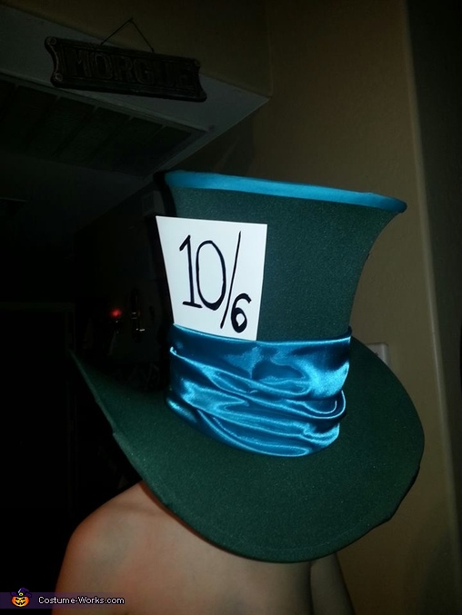 Mad Hatter Hat, The Mad Hatter Costume
