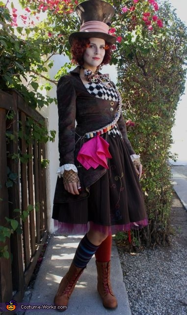 the gallery for gt diy mad hatter costume for women