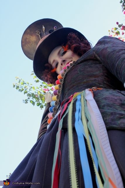 more details, The Mad Hatter Costume