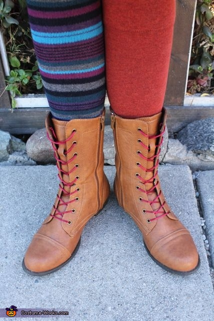 socks and boots, The Mad Hatter Costume