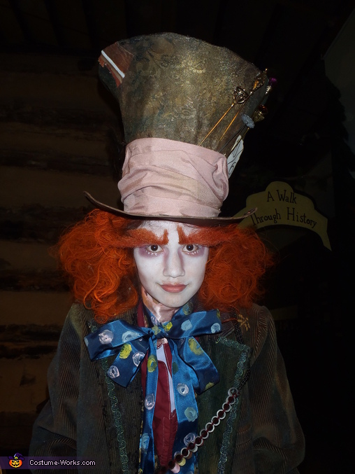 The Mad Hatter and The Queen of Hearts Homemade Costume