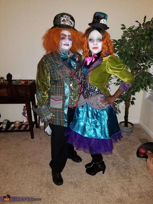 The Mad Hatters Costume