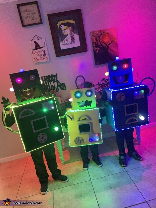 The Son-Bots!, The Mad Scientists and their Son-Bots Costume