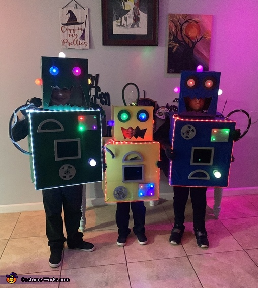 3 of a kind!, The Mad Scientists and their Son-Bots Costume