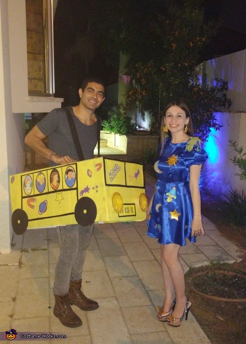 The Magic School Bus Couple Costume