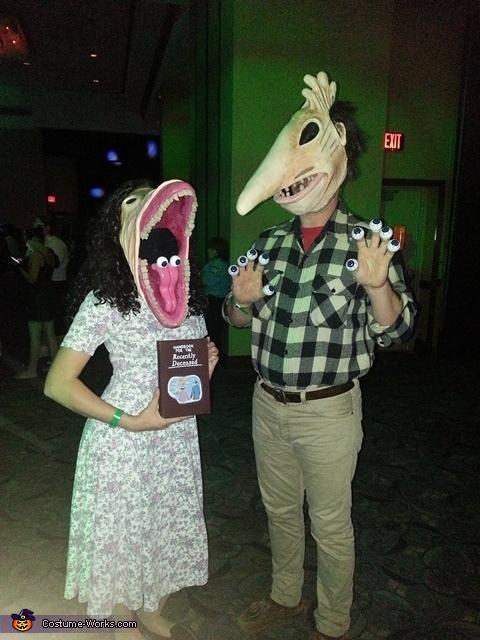 The Maitlands Couple Costume