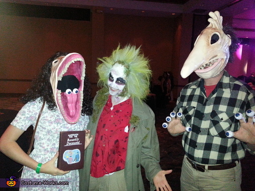 And Beetlejuice of course, The Maitlands Couple Costume
