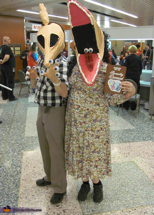 The Maitlands from Beetlejuice Costumes