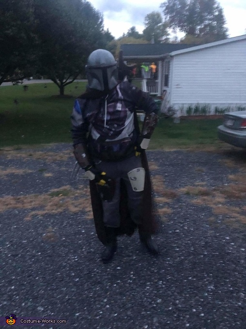 The Mandalorian Homemade Costume