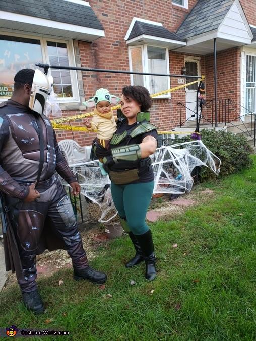 The Mandalorian Homemade Costume