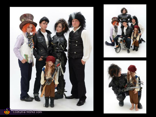 many Faces of Johnny Depp, The Many Faces of Johnny Depp Family Costume