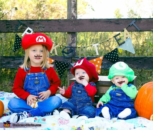 The Mario Bros Costume