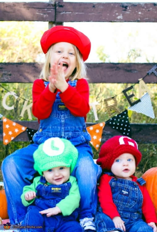 The Mario Bros Homemade Costume