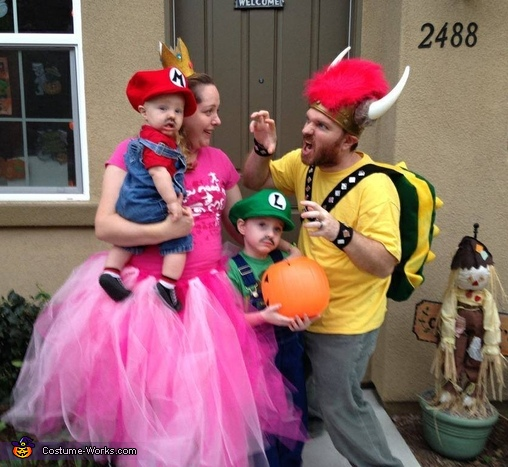 The Mario Bros Family Costume