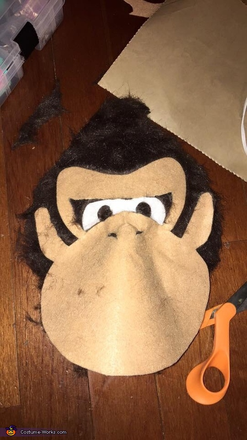 Donkey Kong Mask 1, The Mario Kart Gang Costume
