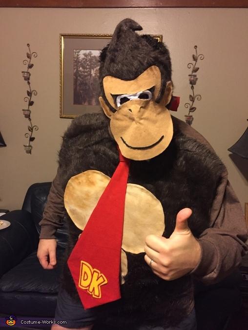 Donkey Kong fur 1, The Mario Kart Gang Costume