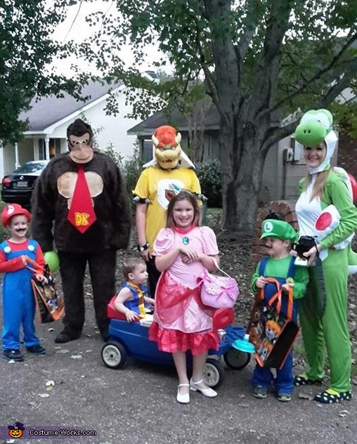 The Mario Kart Gang Costume