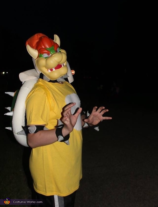Bowser 15year old son, The Mario Kart Gang Costume
