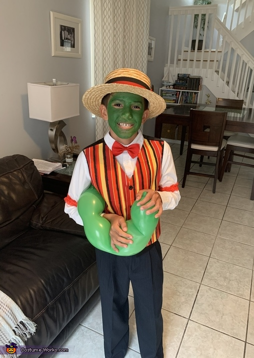 The Mask Homemade Costume