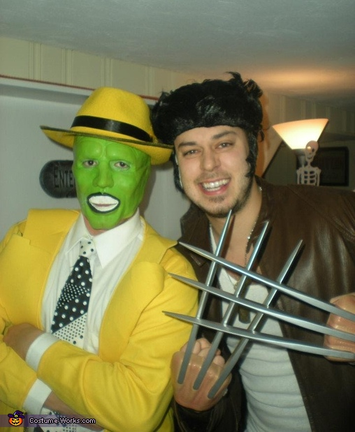 The Mask Vs Wolverine, The Mask Jim Carrey Costume
