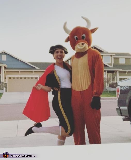The Matador and her Bulls Costume