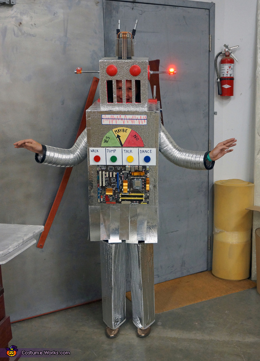 The Mayan Robot Costume