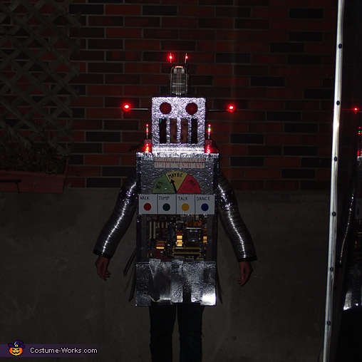 Sparkle plenty, The Mayan Robot Costume