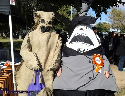 The Mayor and Oogie Boogie Costume