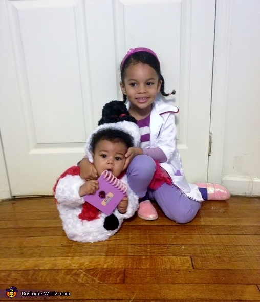 Chilly and Doc, Doc McStuffins Family Costume