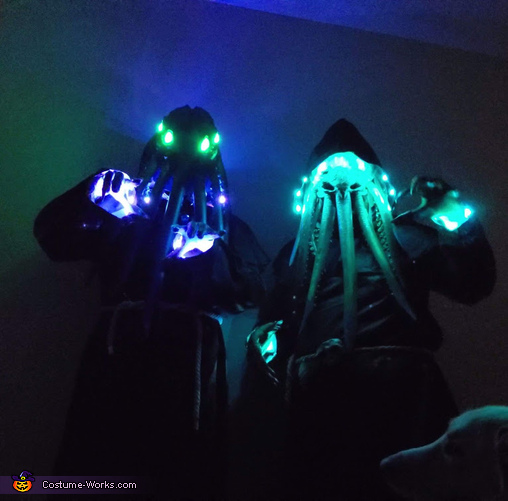 Lighting up the night, The Mind Flayers Costume