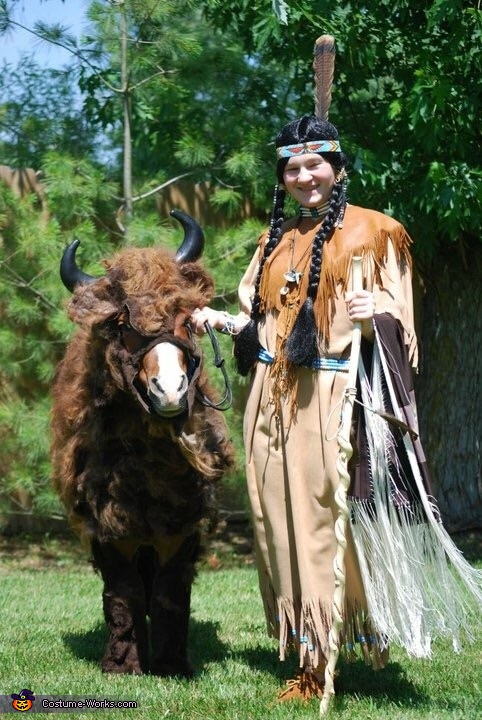 The Miniature Buffalo Homemade Costume