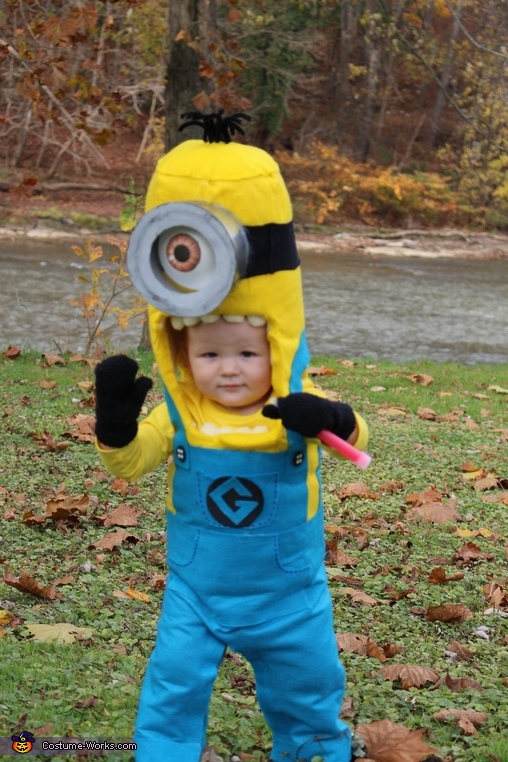 Baby Blake Minion, The Minion Family Costume