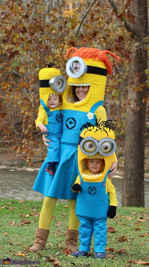 The Minion Family Costume