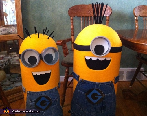 Completed Minion Costumes, The Minions Costume