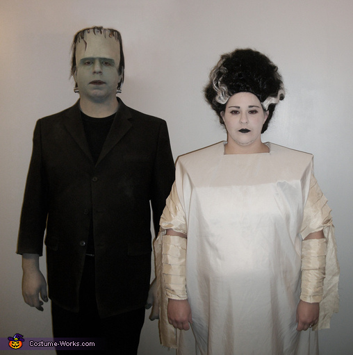 The Monster and his Bride Costume