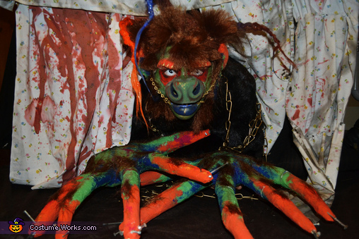 The Monster Under the Bed Costume