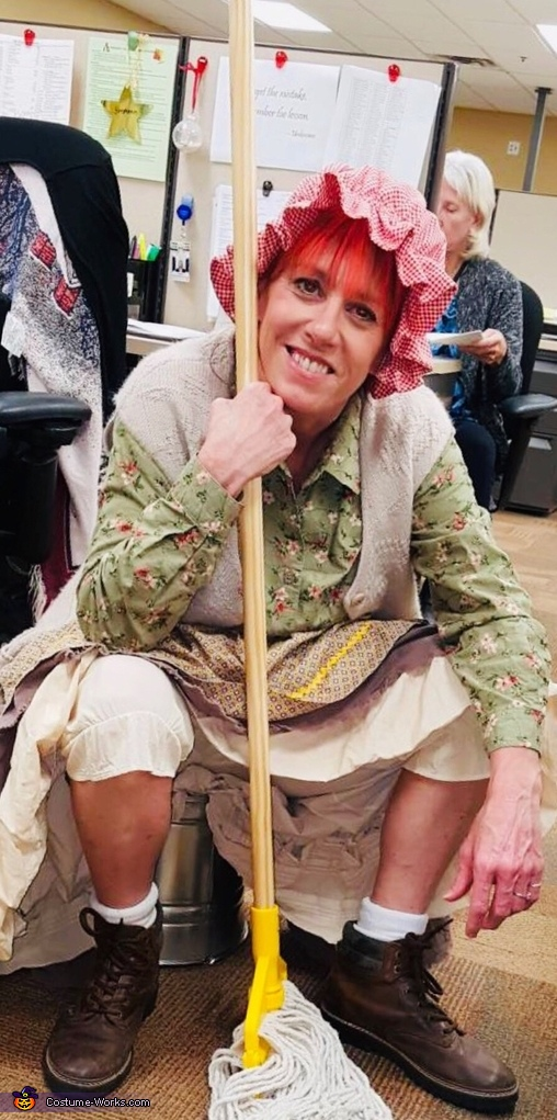 The Mop Lady Costume