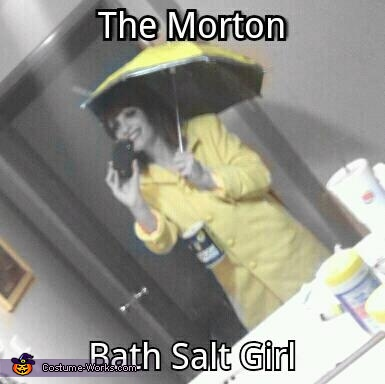 The Morton Bath Salts Girl, The Morton Bath Salts Girl Costume