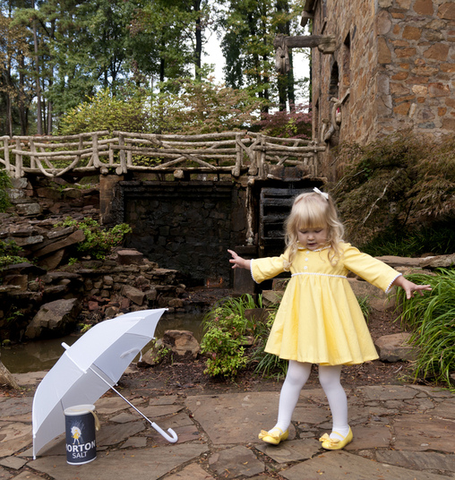 The Morton Salt Girl Costume