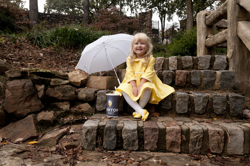 The Morton Salt Girl Homemade Costume