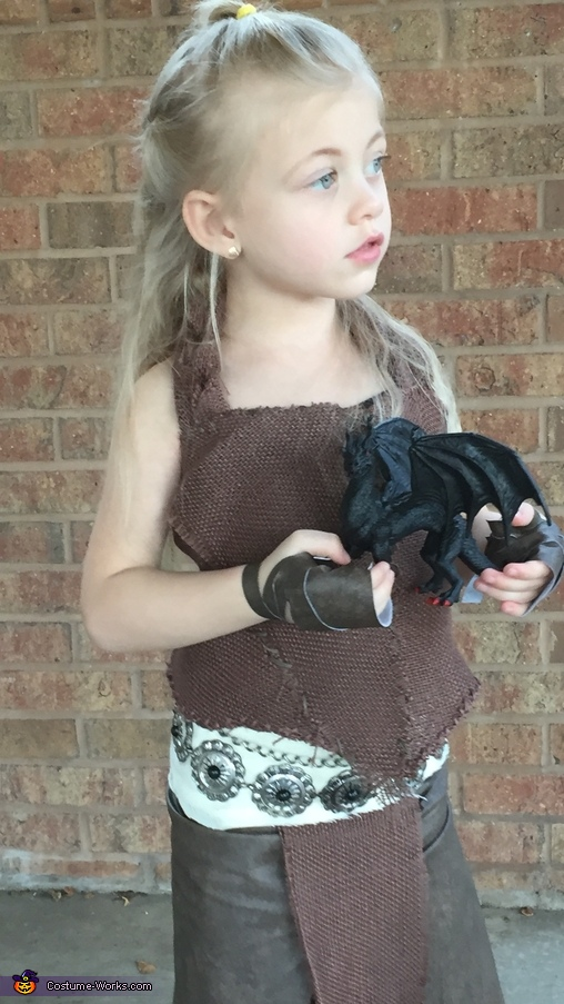 The Mother of Dragons Homemade Costume