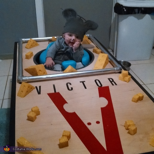 The Mouse Trap Baby Costume