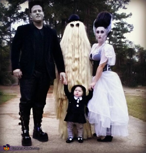 The Munster's have their very own Wednesday Addams Costume