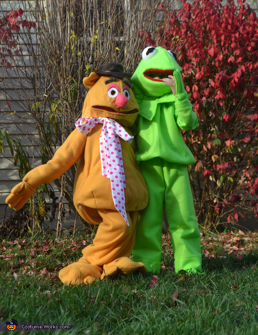 Kermit & Fozzie, the best of friends, The Muppets Costume