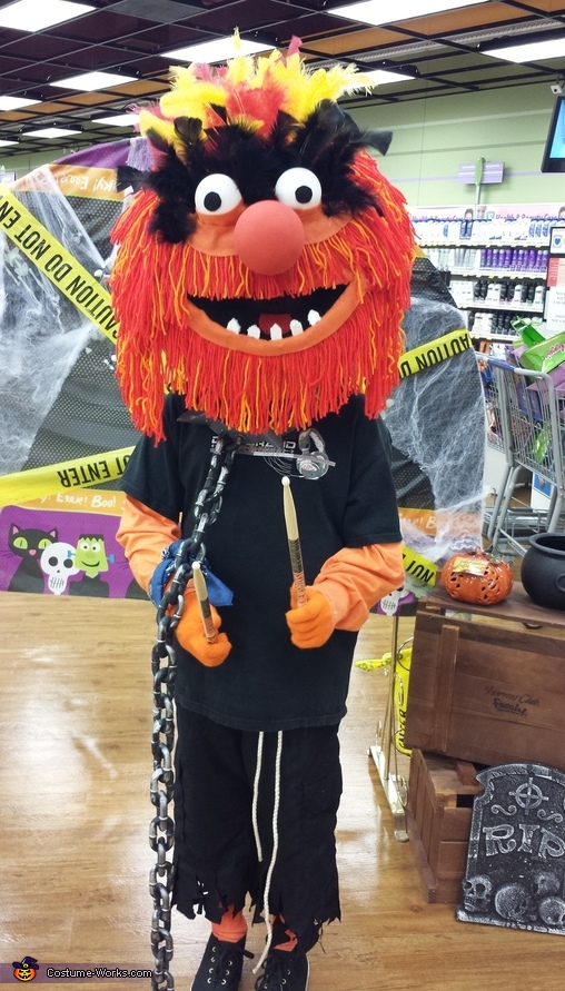 "The Muppets ""Animal"" Costume"