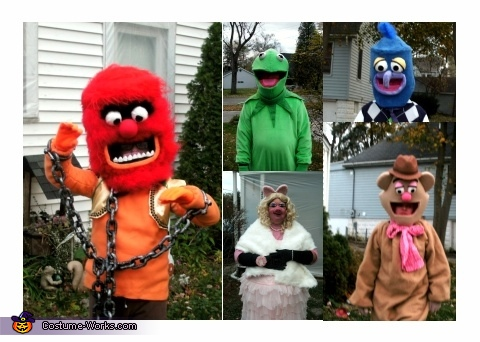Muppets close up, The Muppets Family Costumes