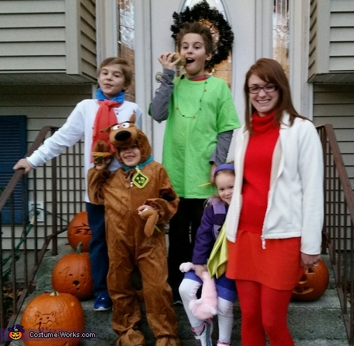 The Mystery Inc. Gang Costume