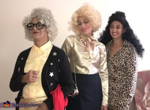 The Nanny Fran, Sylvia and Yetta Costume