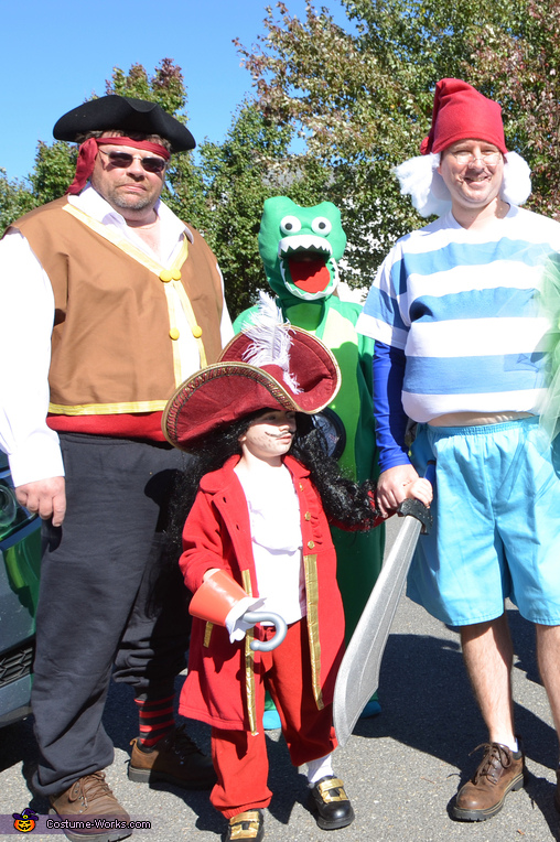 Captain Hook's Crew, The Neverland Gang Costume