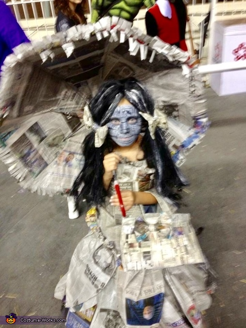 The Newspaper Princess Costume